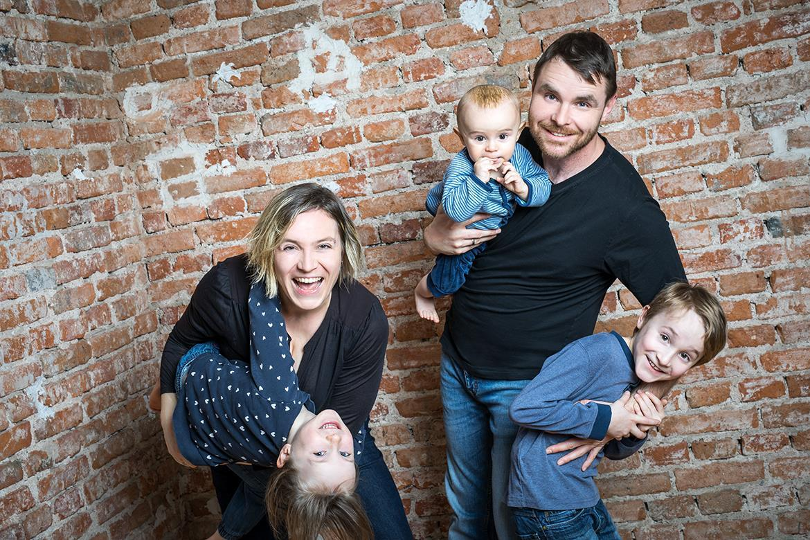 Fotoshooting Familie Geschwister Baby