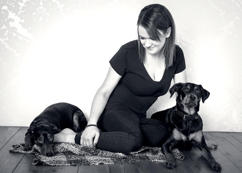 Geschwistershooting Hunde Studio Waldkirch